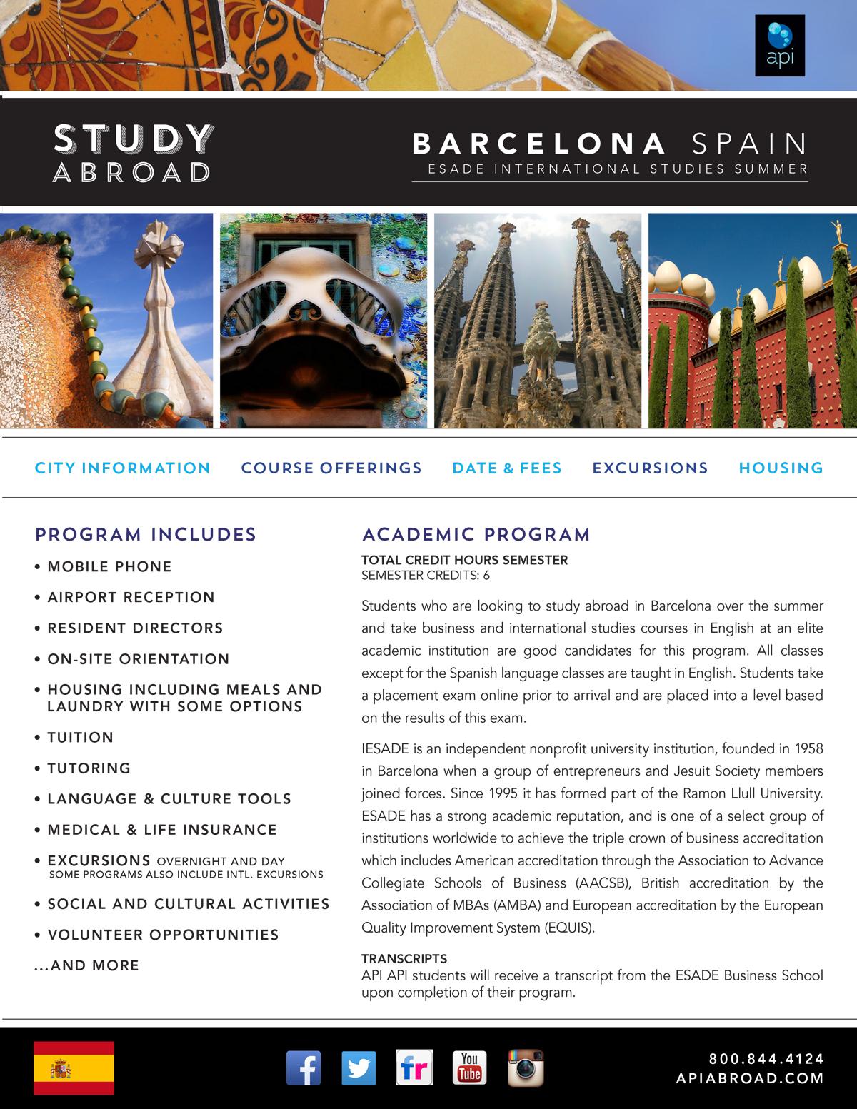 Unt study abroad spanish