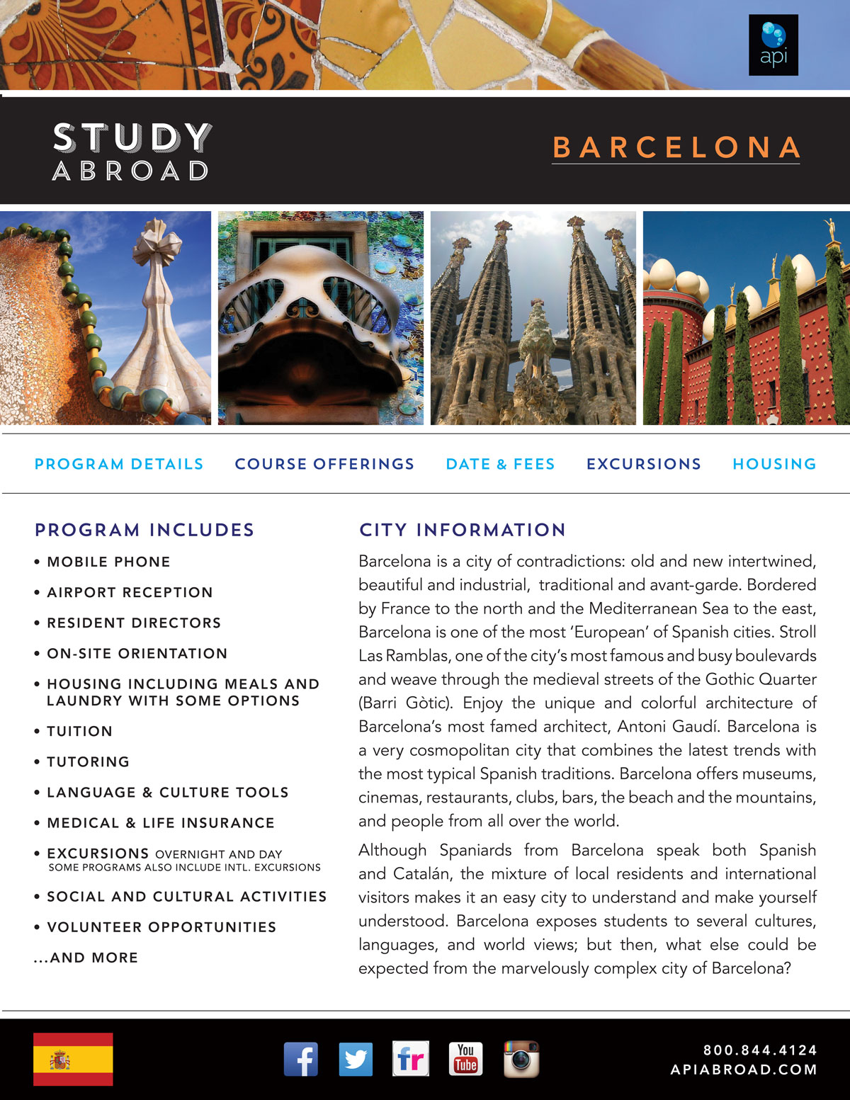 Study Abroad in Barcelona - YouTube