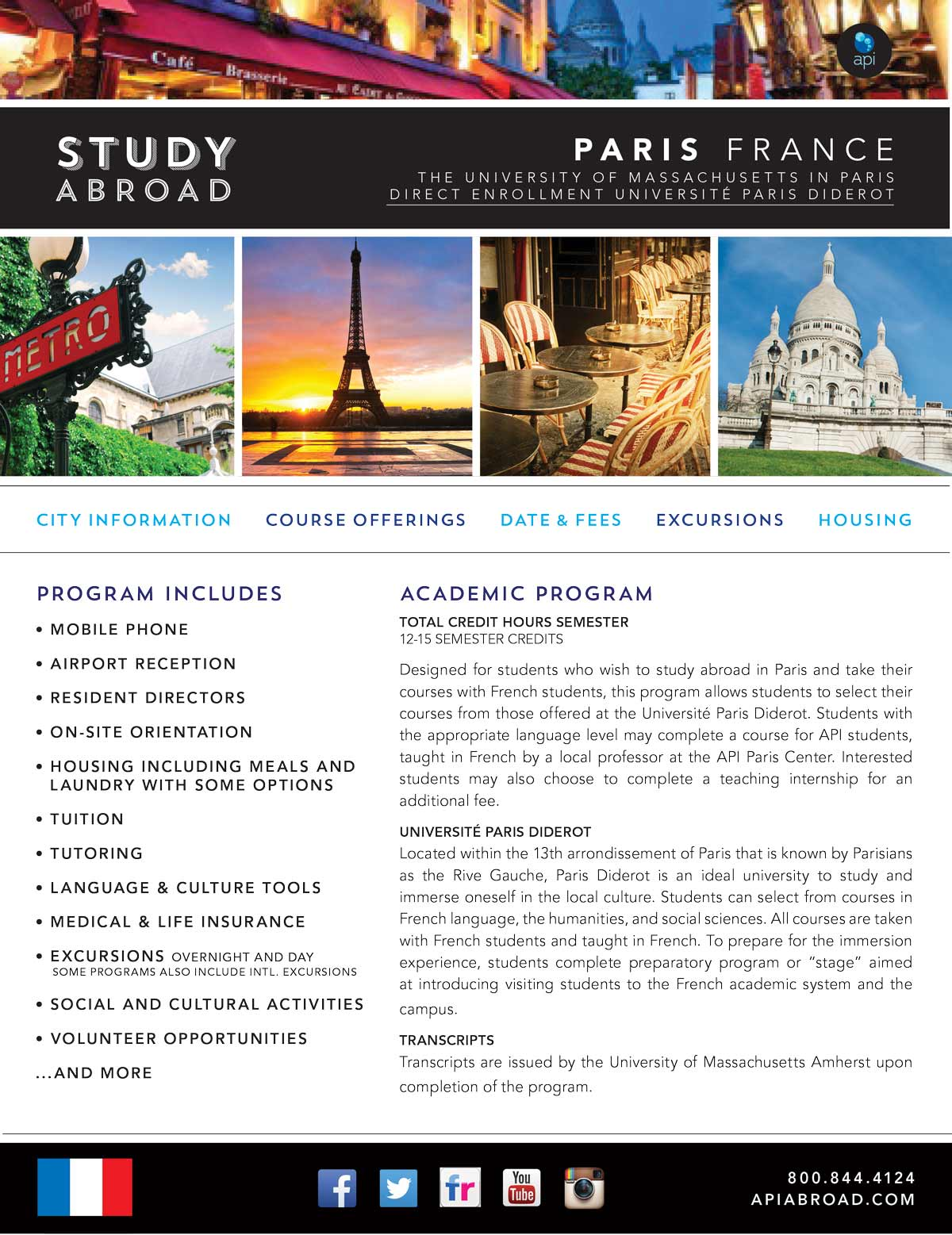Studying Abroad? Paris is the Place to Be!